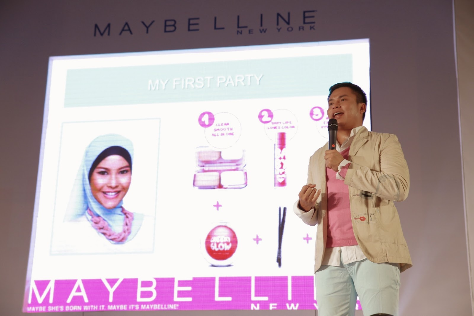 Maybelline New York Indonesia, Clear Smooth All in One, Hypercurl Mascara, Eva Celia, Ryan Ogilvy