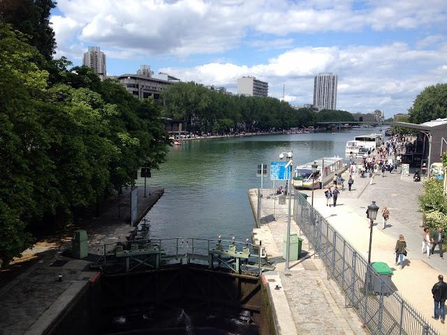 ruta por París el Canal St-Martín