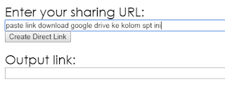 generate link download google drive
