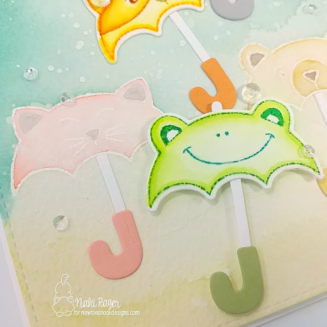 Newton's Nook Designs Umbrella Pals Set - Naki Rager