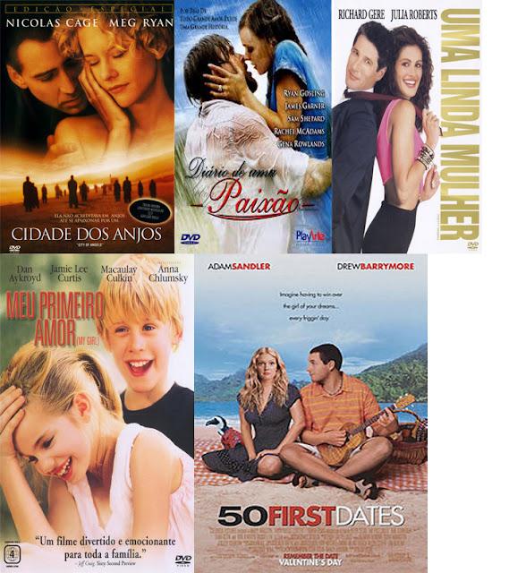 5 Filmes Românticos para a Semana