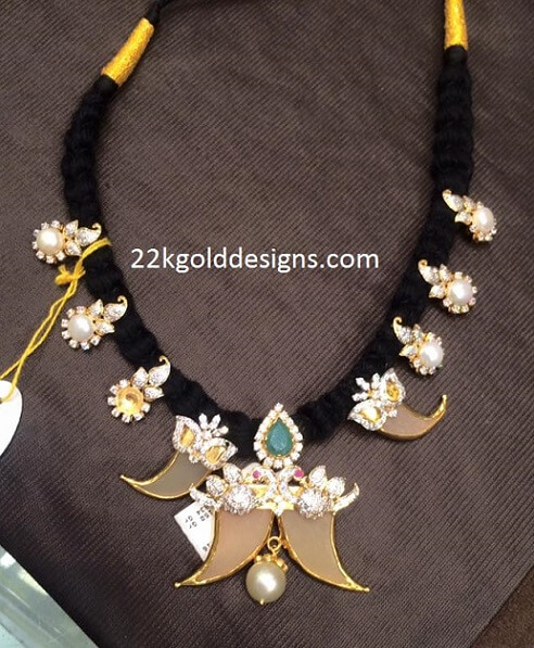 Black Dori Puligoru Necklace