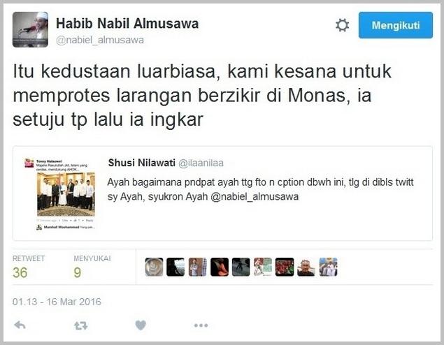 """astaqfirullah, simpatisan ahok buat berita hoax lagi """"majelis rasulullah dukung ahok"""""""