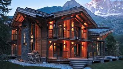 Edificios y casas de madera
