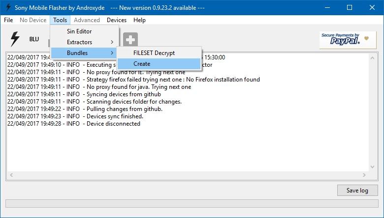 Cara Install Stock ROM Di Sony Xperia Dengan Flashtool XperiFirm