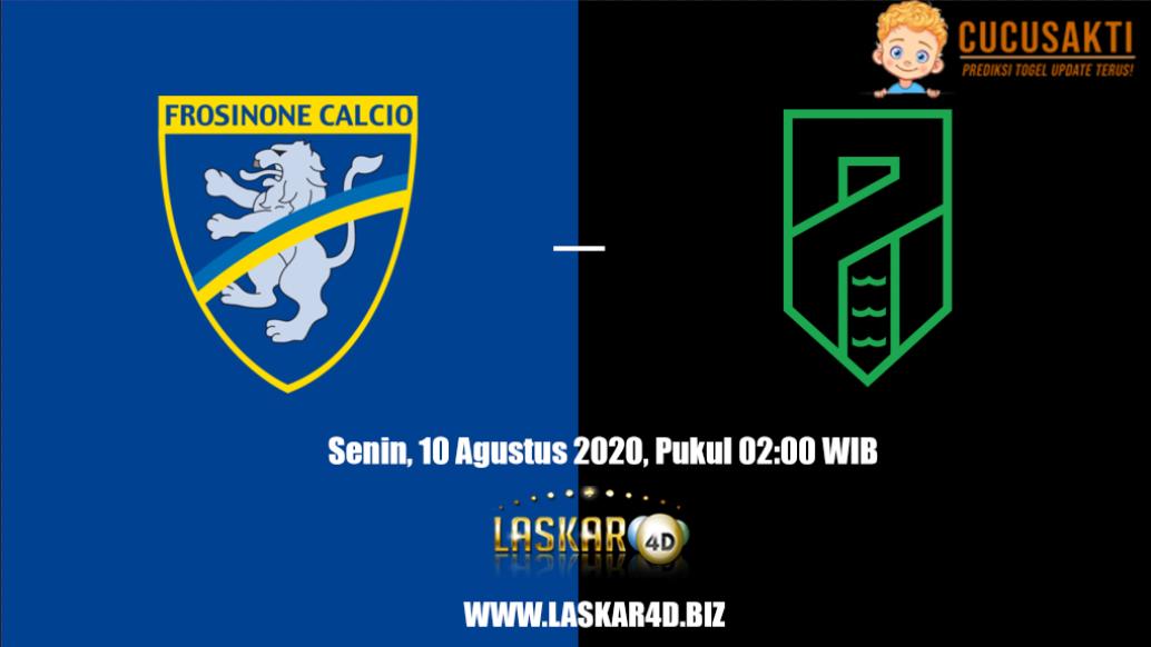 Prediksi Bola Frosinone vs Pordenone Senin, 10 Agustus 2020