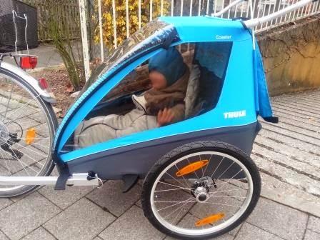Thule Fahrradanhänger Hängematte Thule Chariot Infant Sling
