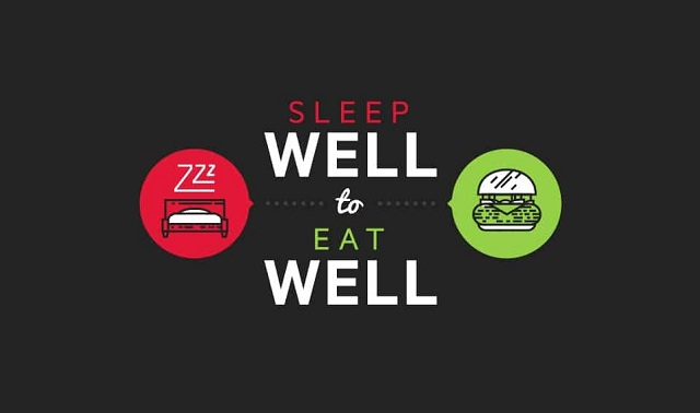 Sleep Well to Eat Well