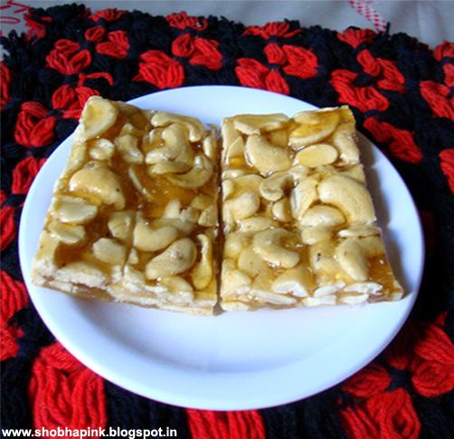 Cashew Nut Chikki