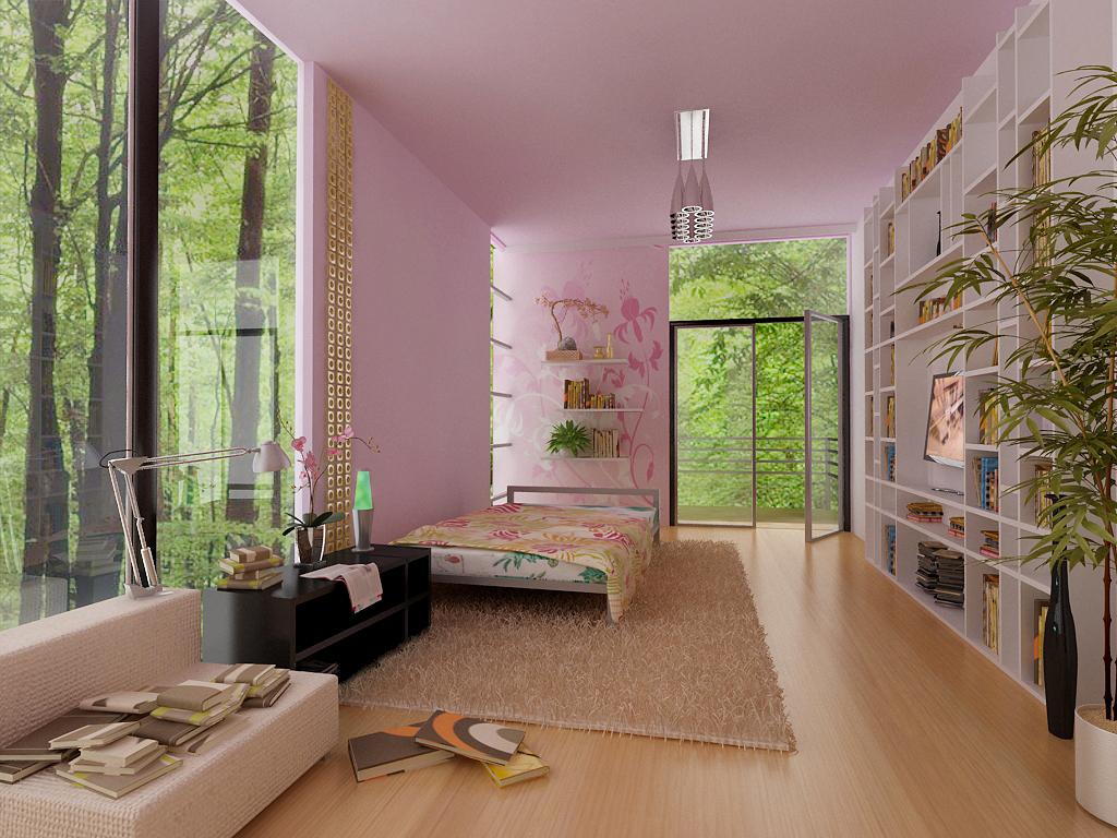 Denah Rumah Minimalis: Desain Interior Kamar Tidur  Denah Rumah Min...