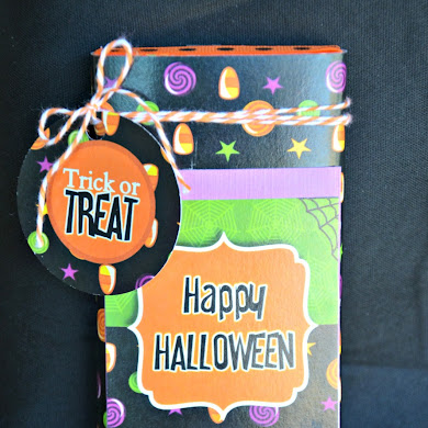 DIY Halloween Candy Bar Wrappers