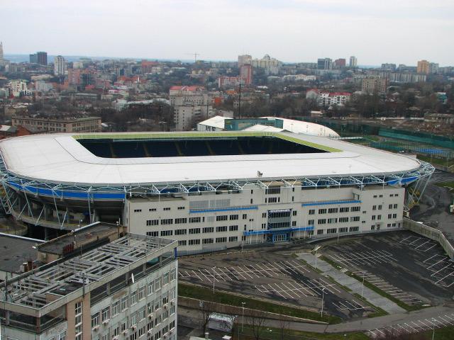 Дніпро-Арена, будівництво