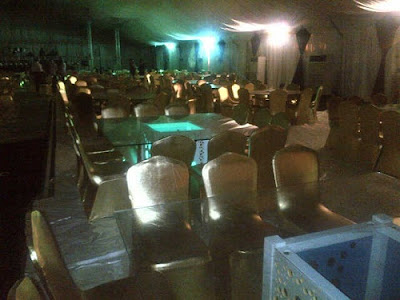 presidential dinner nollywood
