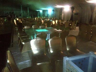 presidential dinner nollywood