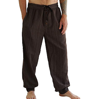 mens steampunk peasant pants