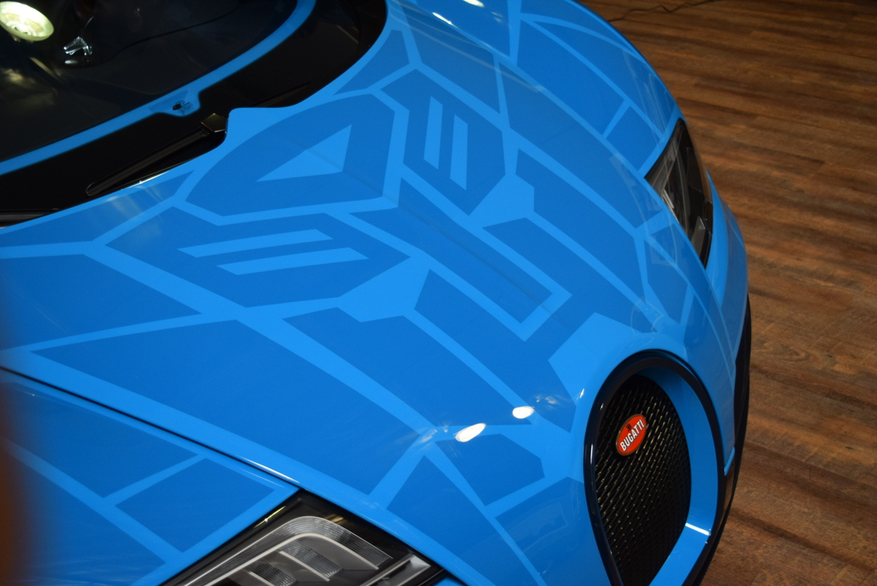 Bugatti veyron grand sport vitesse transformers - photo#15