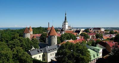 Estlands Hauptstadt Tallinn.