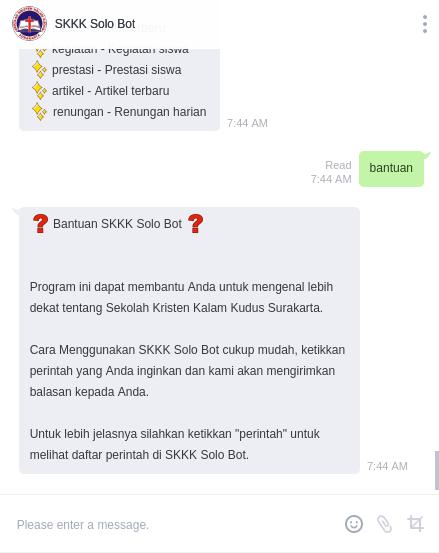SKKK Surakarta Bot Kini Hadir di Aplikasi Line