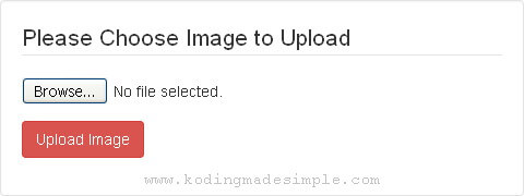 upload image to mysql database using php
