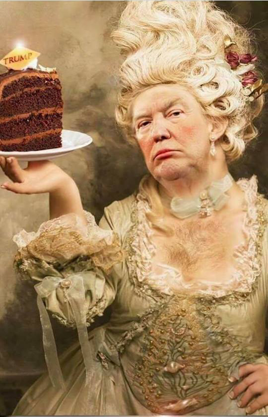 Donald Trump Chocolate Cake