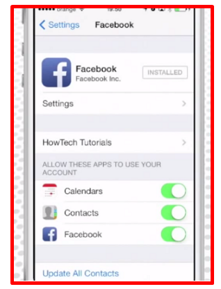 How To Sync Facebook Contacts With Iphone