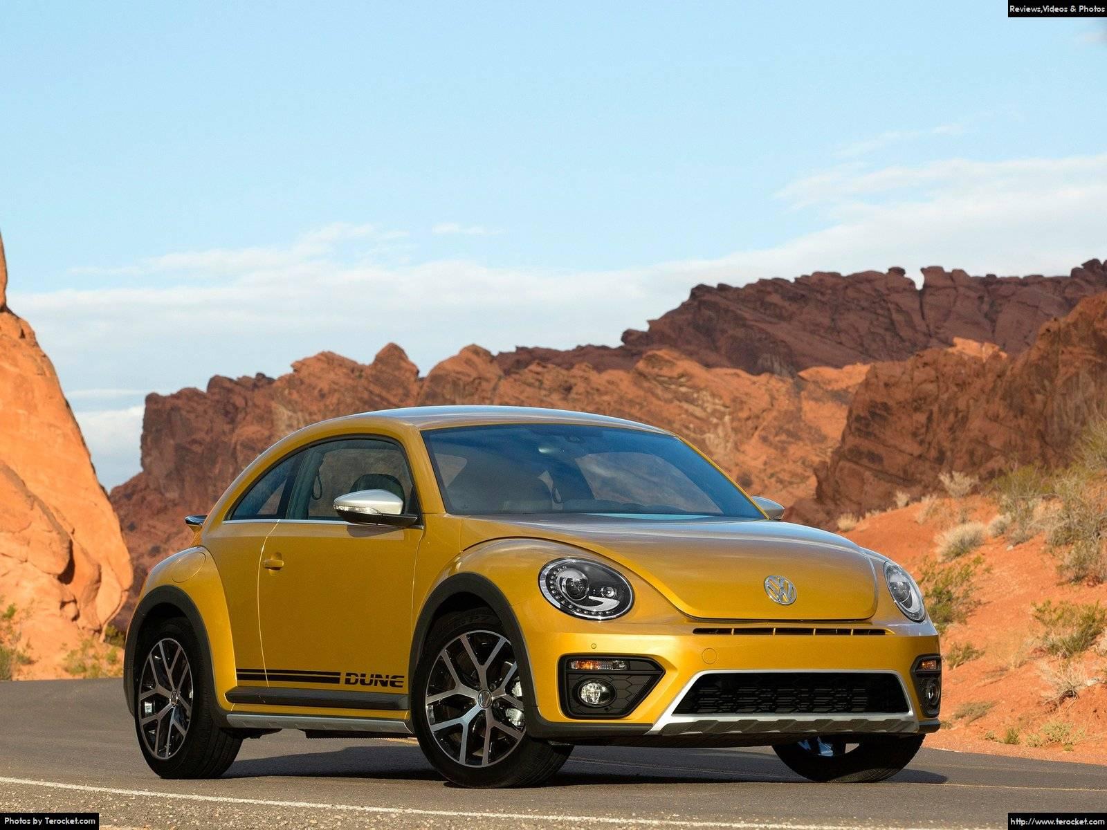 Hình ảnh xe ô tô Volkswagen Beetle Dune 2016 & nội ngoại thất