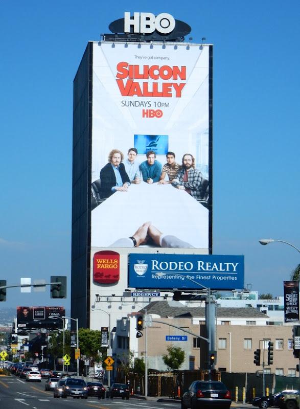 Giant Silicon Valley season 3 billboard