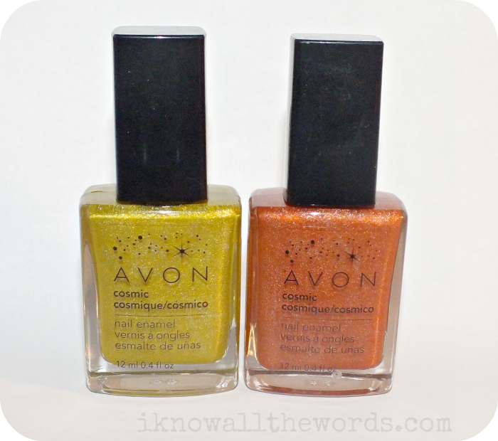 Avon Cosmic Nail Enamel-Starlight, and Saturn