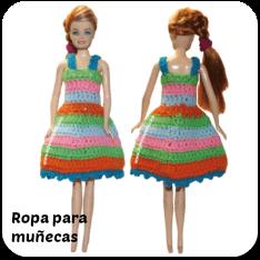 Ropa de muñecas a crochet