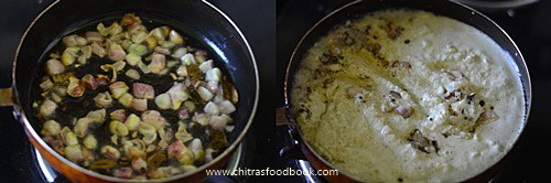 Coconut chutney with onion