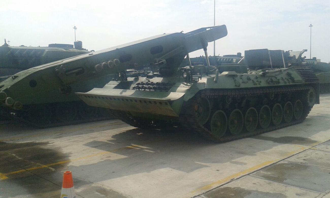 Armoured Recovery Vehicle (ARV) 3 RI