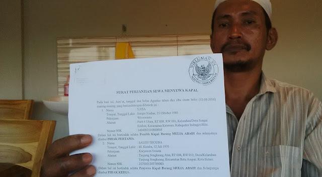 Penangkapan Kapal KM. Mulya Abadi: LSM Barelang Minta Lantamal IV Tangkap Pemilik Barang &Serius Terhadap Pemberantasan Penyeludupan