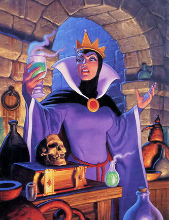 AuthorQuest: Analyzing the Disney Villains: The Evil Queen ... Disney Evil Queen Snow White