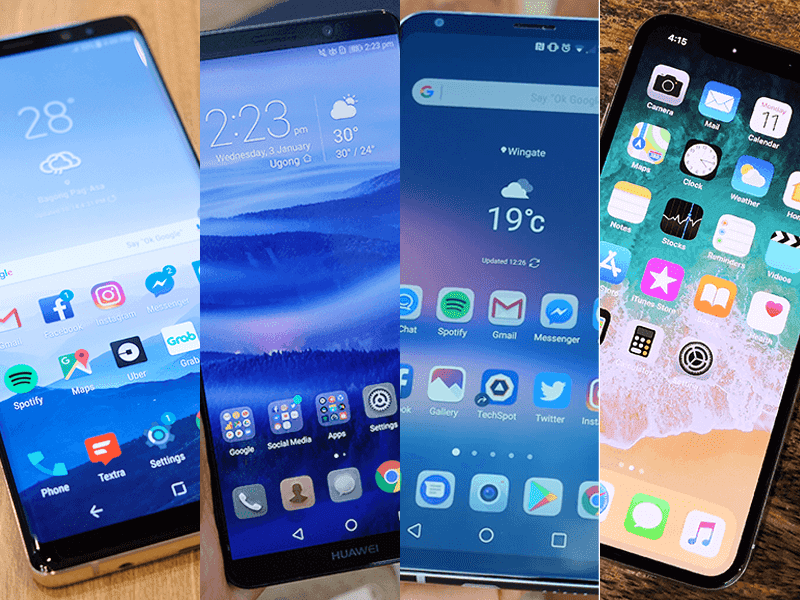 List of the best smartphones you can get in the Philippines (Q1 2018)