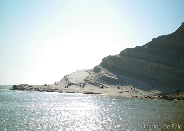 Scala dei Turchi en Agrigento, Sicilia