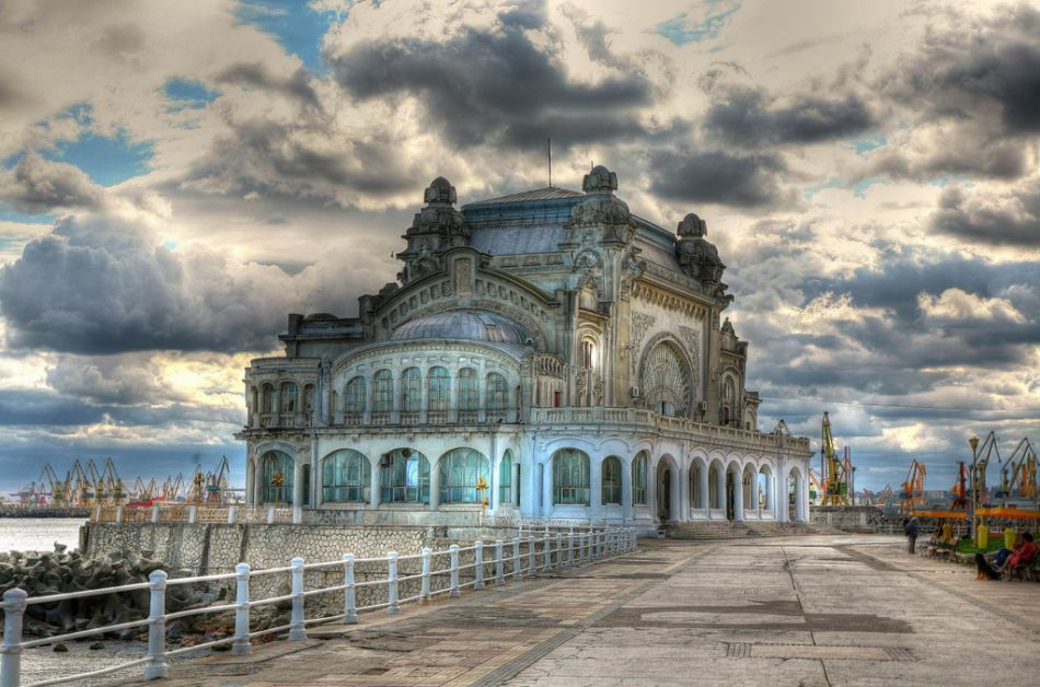 10 Most Famous Abandoned Places In the World | Abandoned Casino in Constanta, Romania