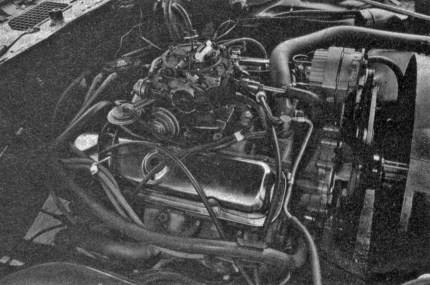 small resolution of 1977 non a c spec w72 engine note flash chromed valve covers