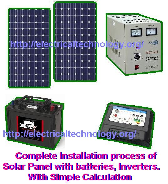 A Complete Note On Solar Panel Installation Calculation