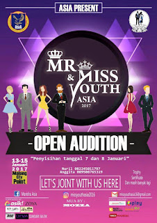 Audisi Miss & Mister Youth 2017