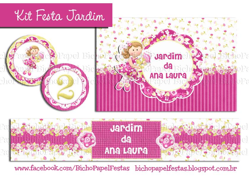 Kit Festa Jardim