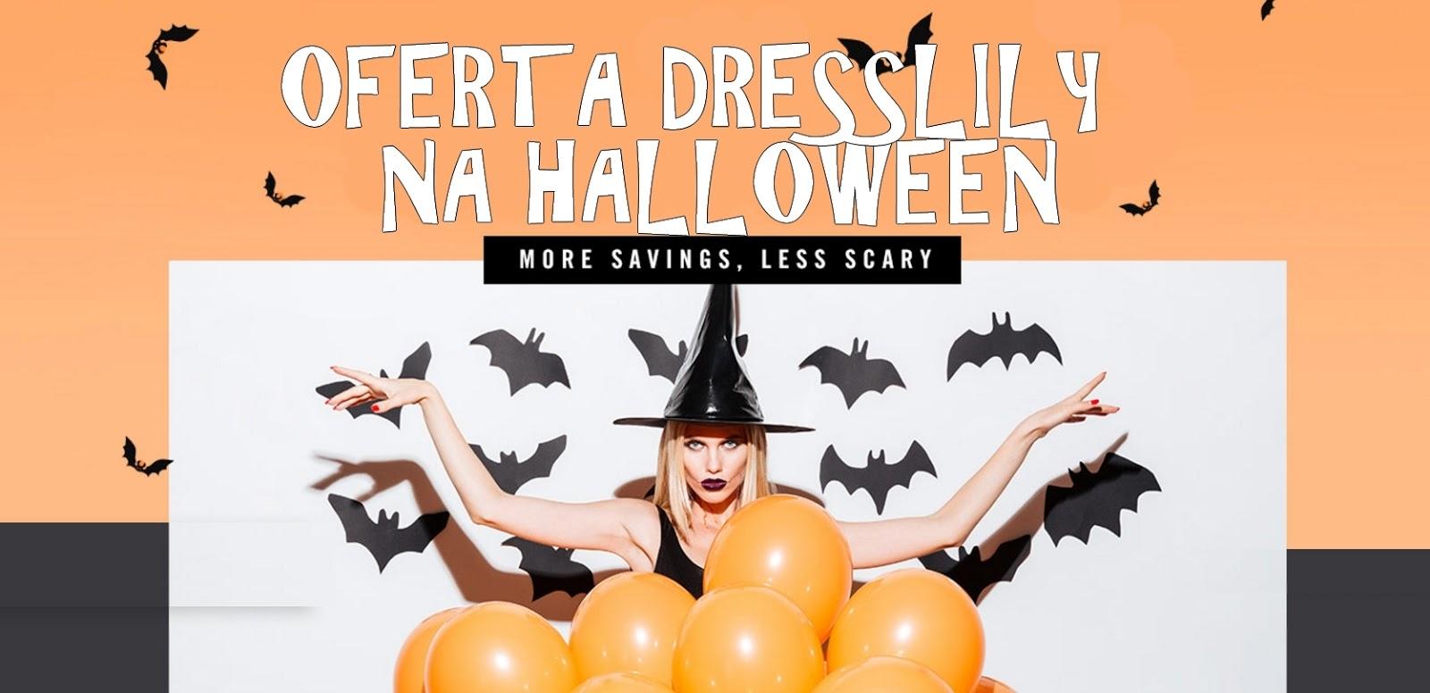 dresslilly na halloween przeglad oferty sklepu review melodylaniella