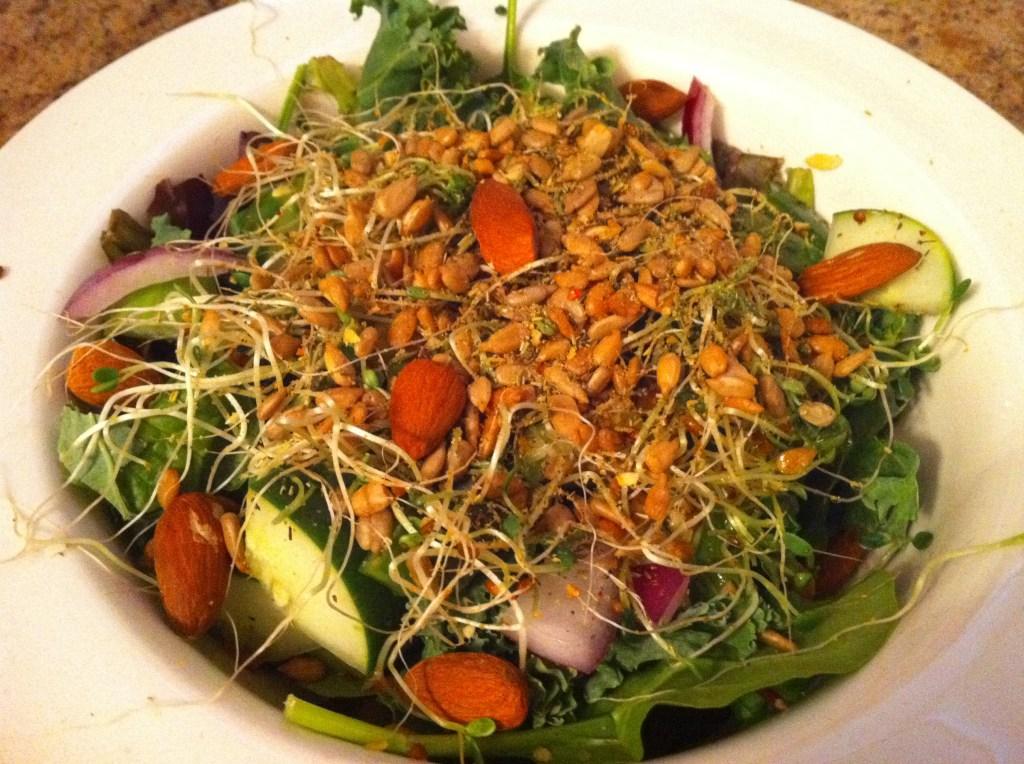 Receita de salada para combater o câncer