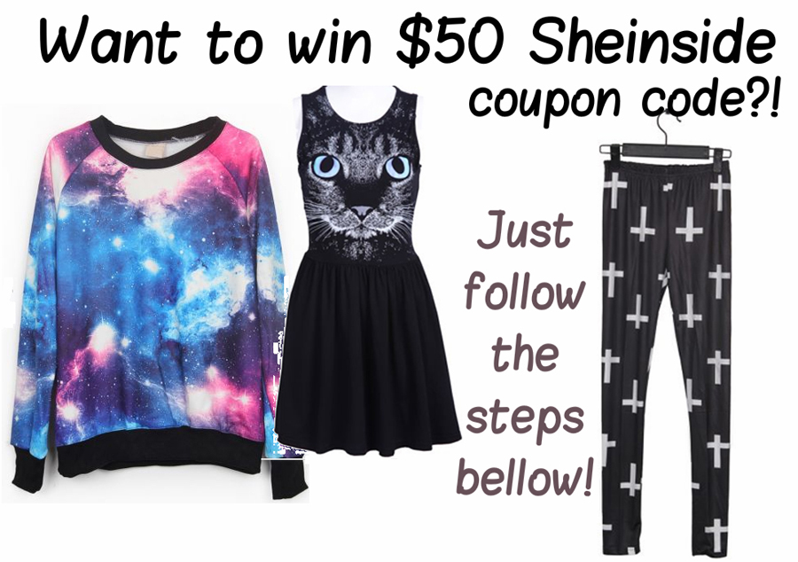 Win $50 Sheinside coupon code! - CLOSED