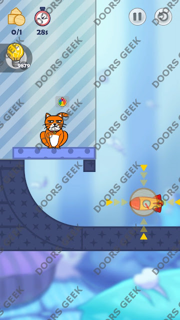 Hello Cats Level 32 Solution, Cheats, Walkthrough 3 Stars for Android and iOS