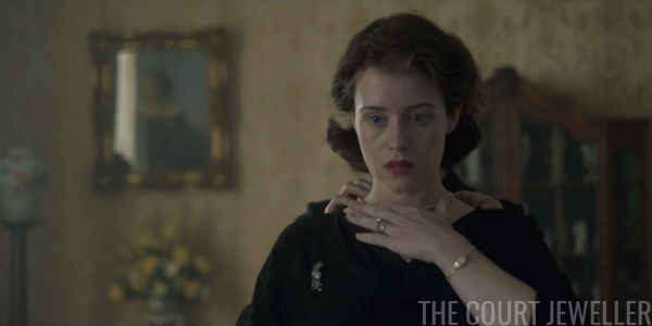 Jewels on Film: The Crown (Season 1, Episode 3)   The Court