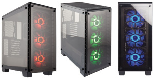 Corsair's Stunning New Crystal Series- 460X RGB Case now available in India