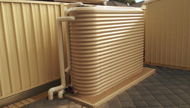 Slimline Rainwater Tanks Adelaide