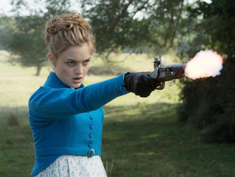 Jane Bennet (Bella Heathcote) en Orgullo y prejuicio y zombis - Cine de Escritor