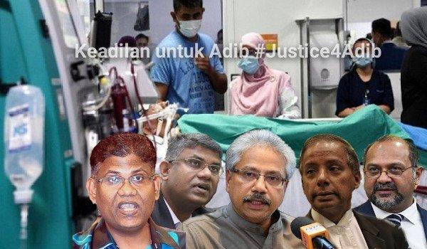 Keadilan untuk Adib #Justice4Adib