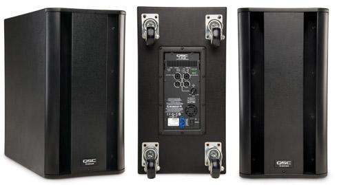 QSC K10 K Series 2-Way Watt Active Speaker with 10 Woofer